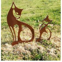 Chats-décoration-jardin-iriso